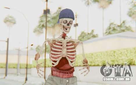 Skeleton Sk8ter para GTA San Andreas