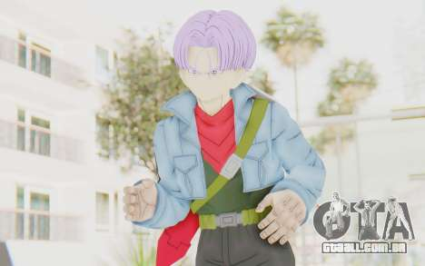 Trunks Del Futuro v1 para GTA San Andreas