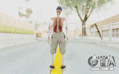 Skeleton Sk8ter para GTA San Andreas terceira tela