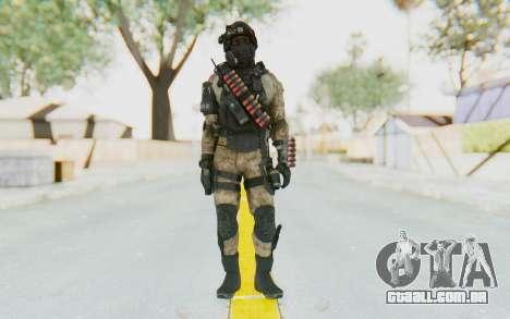 Federation Elite Shotgun Desert para GTA San Andreas segunda tela