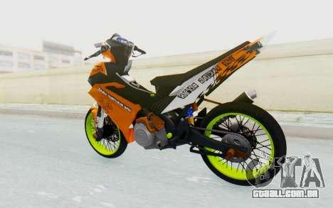 Yamaha Jupiter MX 135 Roadrace para GTA San Andreas esquerda vista