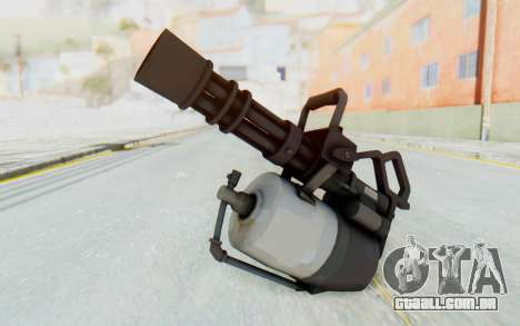 Minigun from TF2 para GTA San Andreas segunda tela