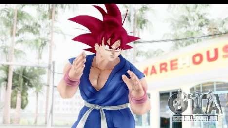 Dragon Ball Xenoverse Goku GT Adult SSG para GTA San Andreas