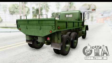 AM General M35A2 para GTA San Andreas vista direita