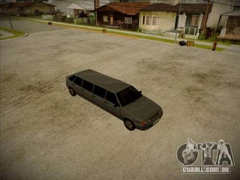 VAZ 2114 Devastadora HQ model para GTA San Andreas