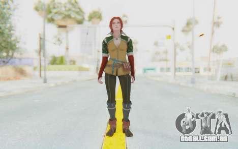 The Witcher 3 - Triss Merigold Default para GTA San Andreas segunda tela