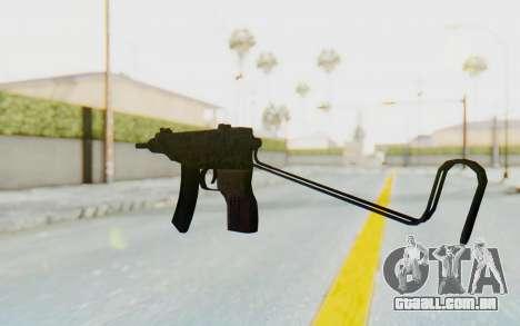 VZ-61 Skorpion Unfold Stock Russian Gorka Camo para GTA San Andreas segunda tela