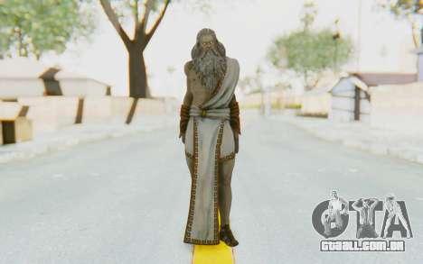 Zeus Skin para GTA San Andreas segunda tela