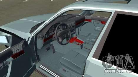BMW 535i Gang para GTA San Andreas vista traseira