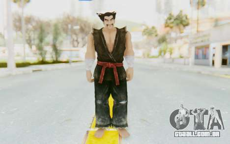 Heihachi Mishima (Young) para GTA San Andreas segunda tela