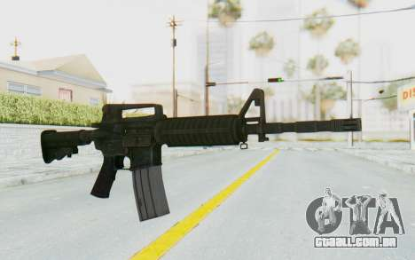 Assault M4A1 para GTA San Andreas