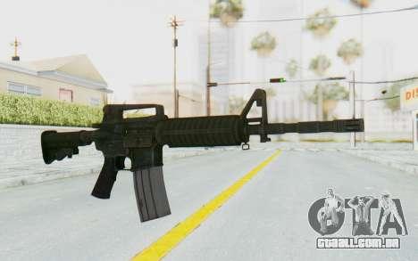 Assault M4A1 para GTA San Andreas