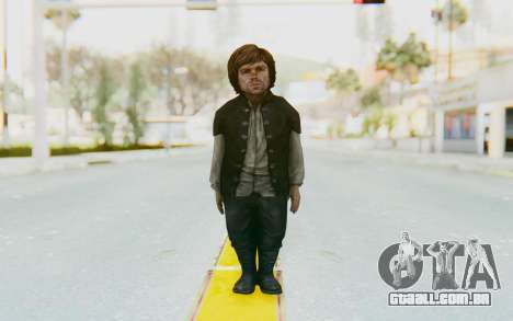 Game Of Thrones - Tyrion Lannister Prison Outfit para GTA San Andreas segunda tela