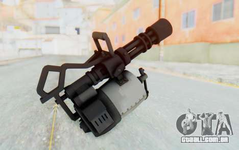 Minigun from TF2 para GTA San Andreas terceira tela