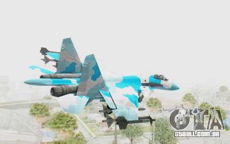 SU-37 American Ornament para GTA San Andreas vista direita