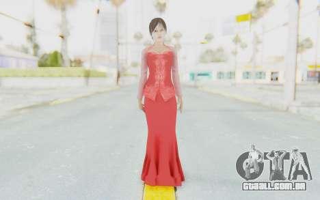 Linda Meilinda Kebaya Lady In Red para GTA San Andreas segunda tela