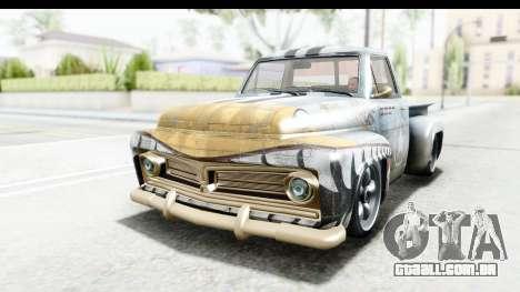 GTA 5 Vapid Slamvan Custom IVF para GTA San Andreas interior