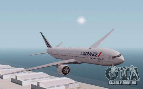 Boeing 777-300ER France Air para GTA San Andreas
