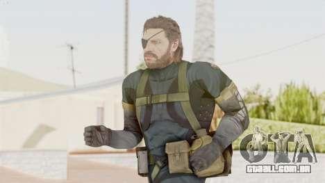 MGSV Phantom Pain Big Boss SV Sneaking Suit v2 para GTA San Andreas