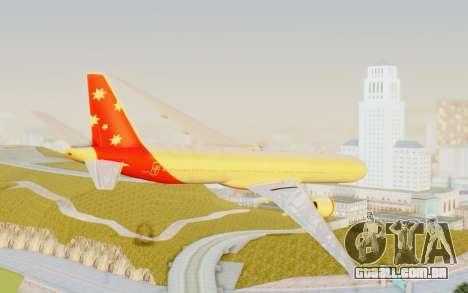 Boeing 777-300ER Virgin Australia v1 para GTA San Andreas esquerda vista