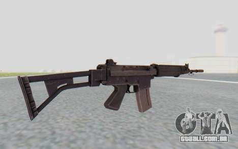 FN-FNC para GTA San Andreas terceira tela