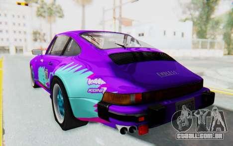 Porsche 911 Turbo 3.2 Coupe (930) 1985 para o motor de GTA San Andreas