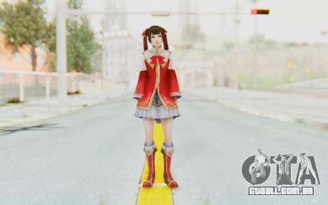Dynasty Warriors 8 - Daqiao para GTA San Andreas segunda tela