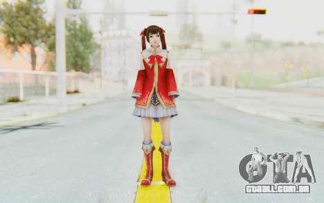Dynasty Warriors 8 - Daqiao para GTA San Andreas segunda tela