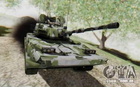 Norinco Type 63 para GTA San Andreas traseira esquerda vista