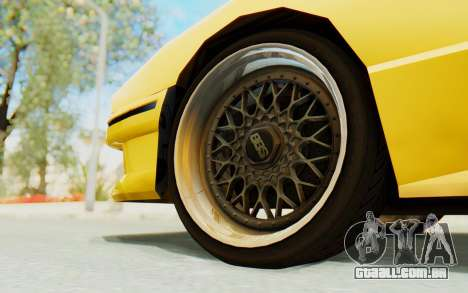 Elegy E30 para GTA San Andreas vista interior