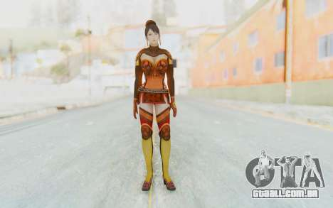 Dynasty Warriors 7 - Lian Shi v1 para GTA San Andreas segunda tela
