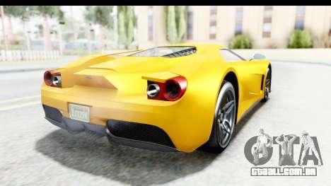 GTA 5 Vapid FMJ para GTA San Andreas vista direita