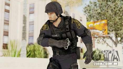 Dead Rising 2 Chucky Swat Outfit para GTA San Andreas
