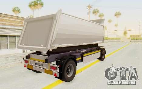 MAN TGA Energrom Edition Trailer v2 para GTA San Andreas vista direita