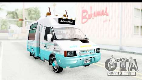 Iveco Turbo Daily para GTA San Andreas