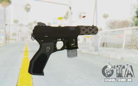 GTA 5 Vom Feuer Machine Pistol para GTA San Andreas segunda tela