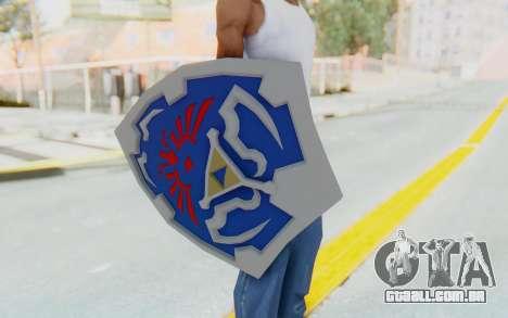 Hylian Shield from Legend of Zelda para GTA San Andreas terceira tela