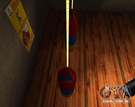 Pêra estilo de Boxe do armênio bandeira para GTA San Andreas segunda tela