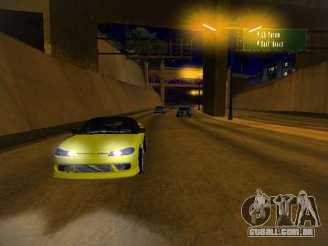 Nissan Silvia S15 para as rodas de GTA San Andreas