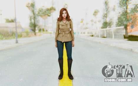 Marvel Future Fight - Black Widow (Civil War) para GTA San Andreas segunda tela