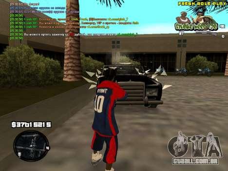C-HUD Smoke Weed 420 para GTA San Andreas