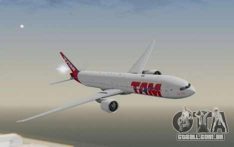 Boeing 777-300ER TAM linhas Aéreas para GTA San Andreas