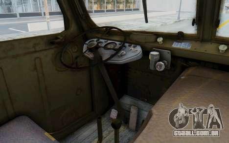 Praga V3S para GTA San Andreas vista interior