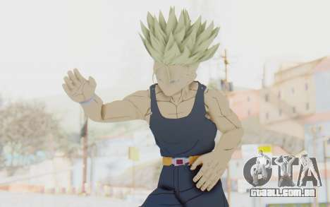 Dragon Ball Xenoverse Future Trunks Shirt SSJ para GTA San Andreas