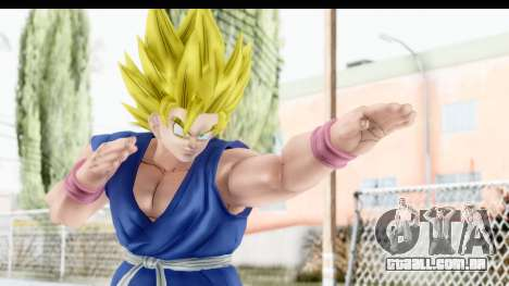 Dragon Ball Xenoverse Goku GT Adult SSJ2 para GTA San Andreas
