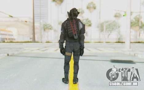 Federation Elite SMG Original para GTA San Andreas terceira tela