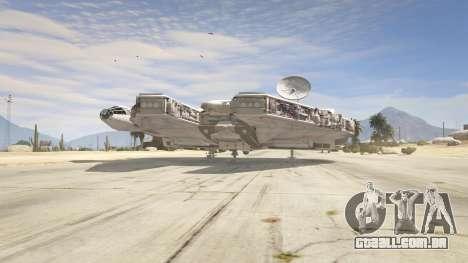 GTA 5 Star Wars Millenium Falcon 5.0 terceiro screenshot