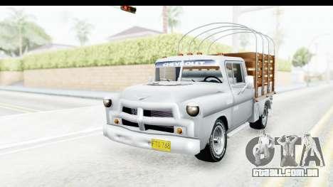 Chevrolet 3100 Diesel v1 para GTA San Andreas vista direita