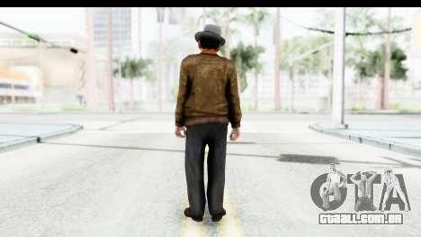 Mafia 2 - Marty para GTA San Andreas terceira tela