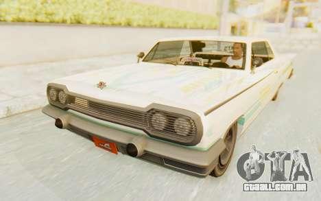 GTA 5 Declasse Voodoo para o motor de GTA San Andreas